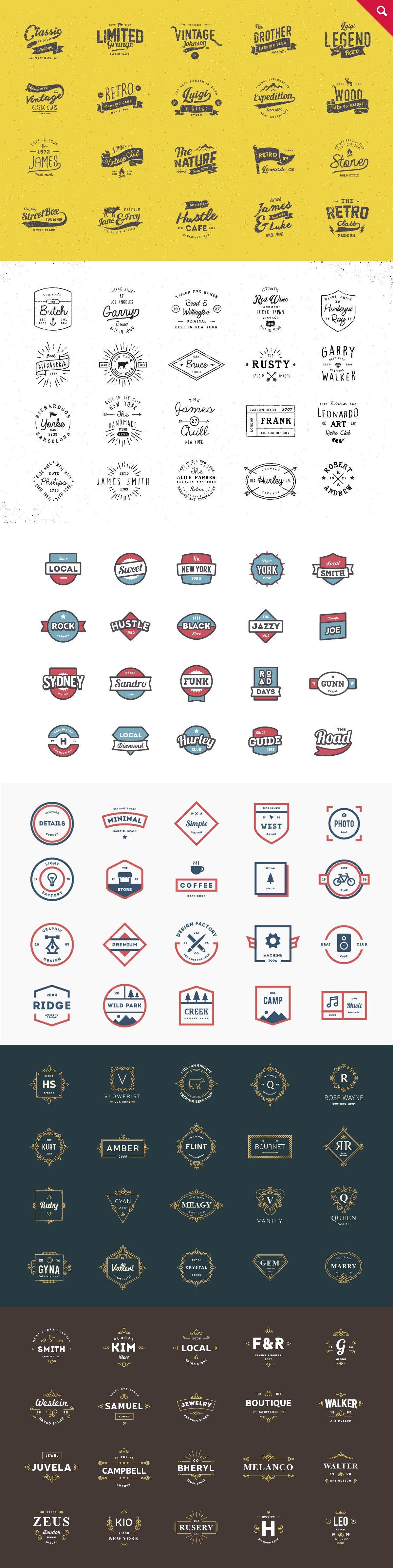465个logo标志合集