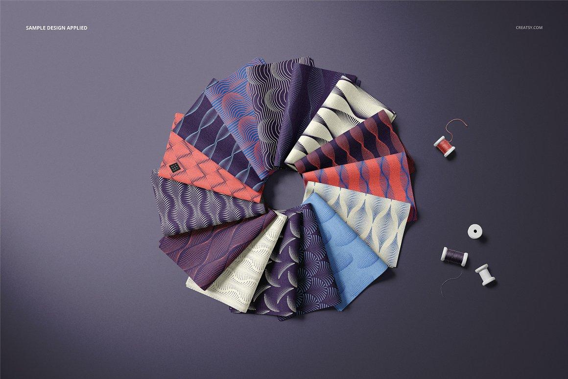 折叠式织物样机集