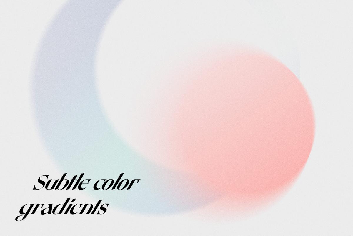 渐变颜色粒状纹理