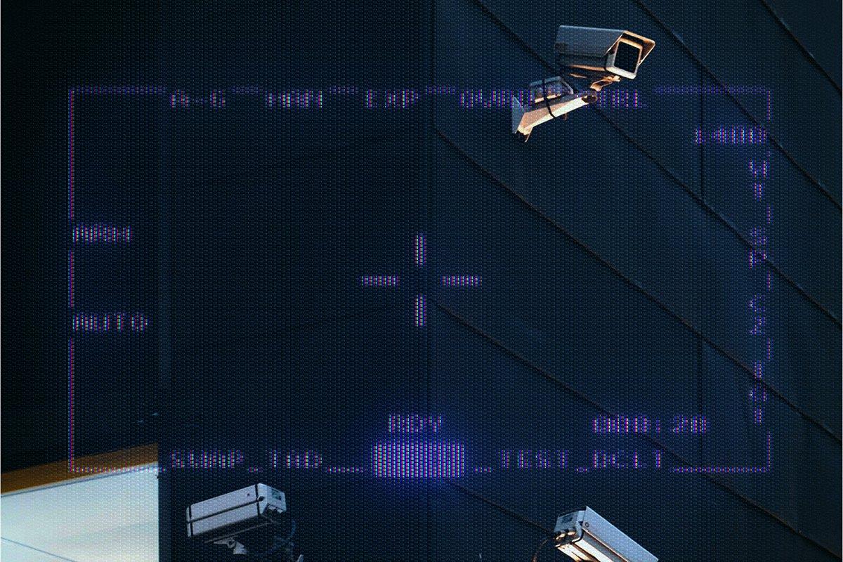 复古老式CRT显示器效果样机模板