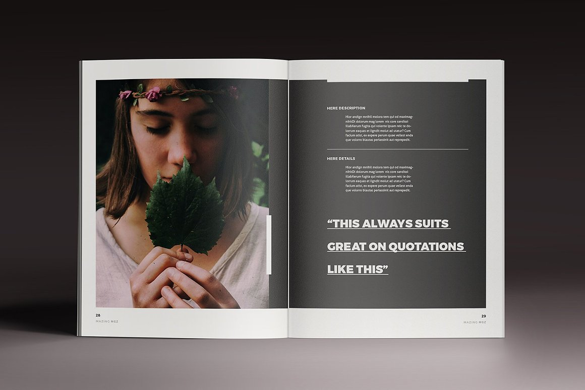 InDesign杂志画册