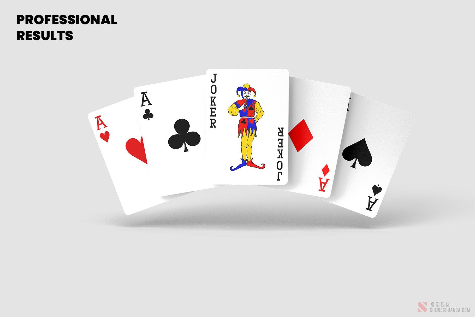 纸牌扑克牌样机
