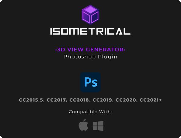 3D视图生成器PS插件