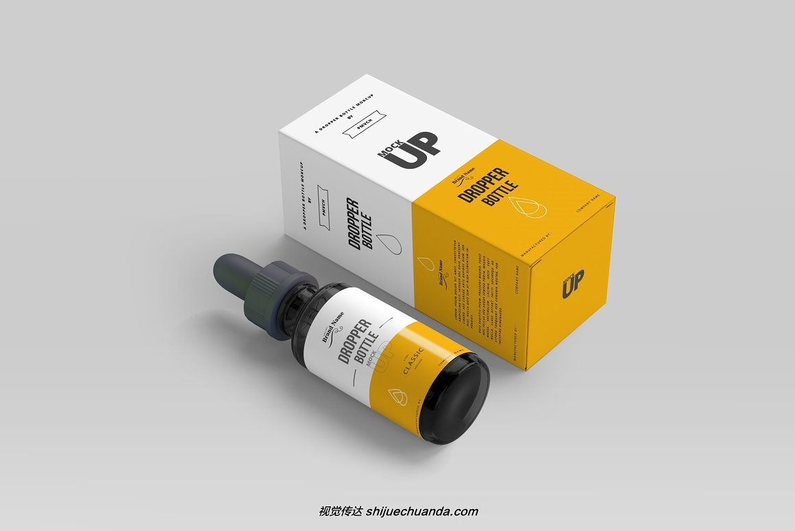 医疗滴管瓶样机模型