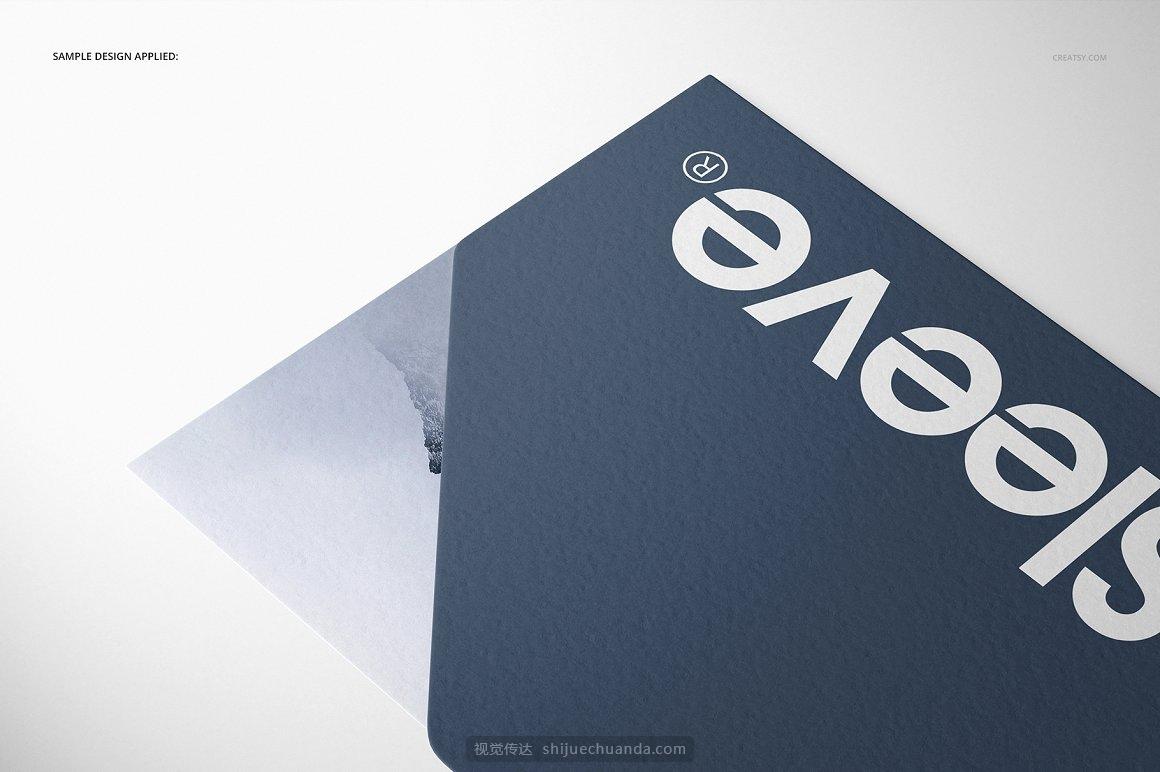 宣传单小册子设计提案样机PSD模板