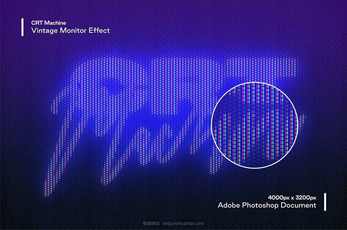 故障艺术信号错乱扭曲动态模糊叠影喷雾文字效果合辑