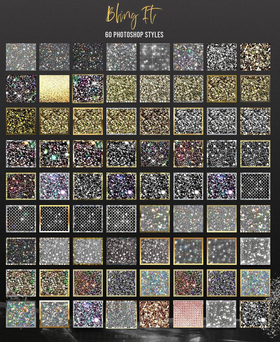 钻石手工水晶艺术PS样式