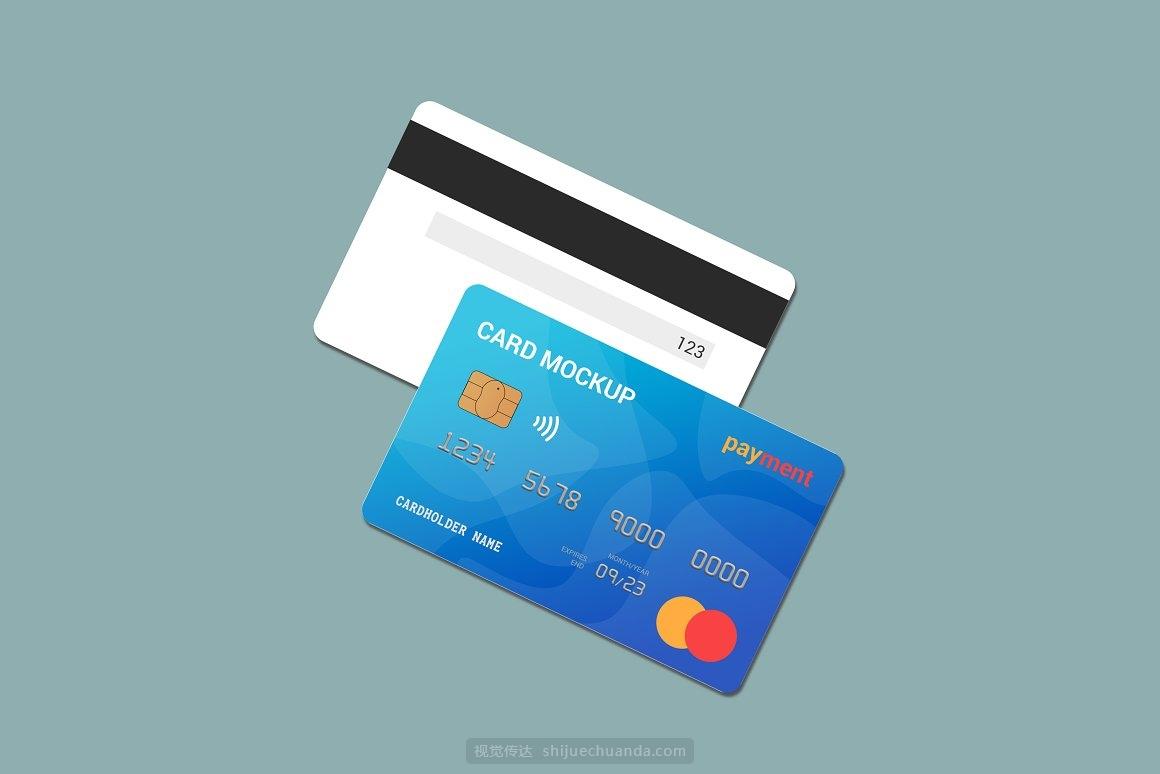 信用卡银行卡借记卡样机模型