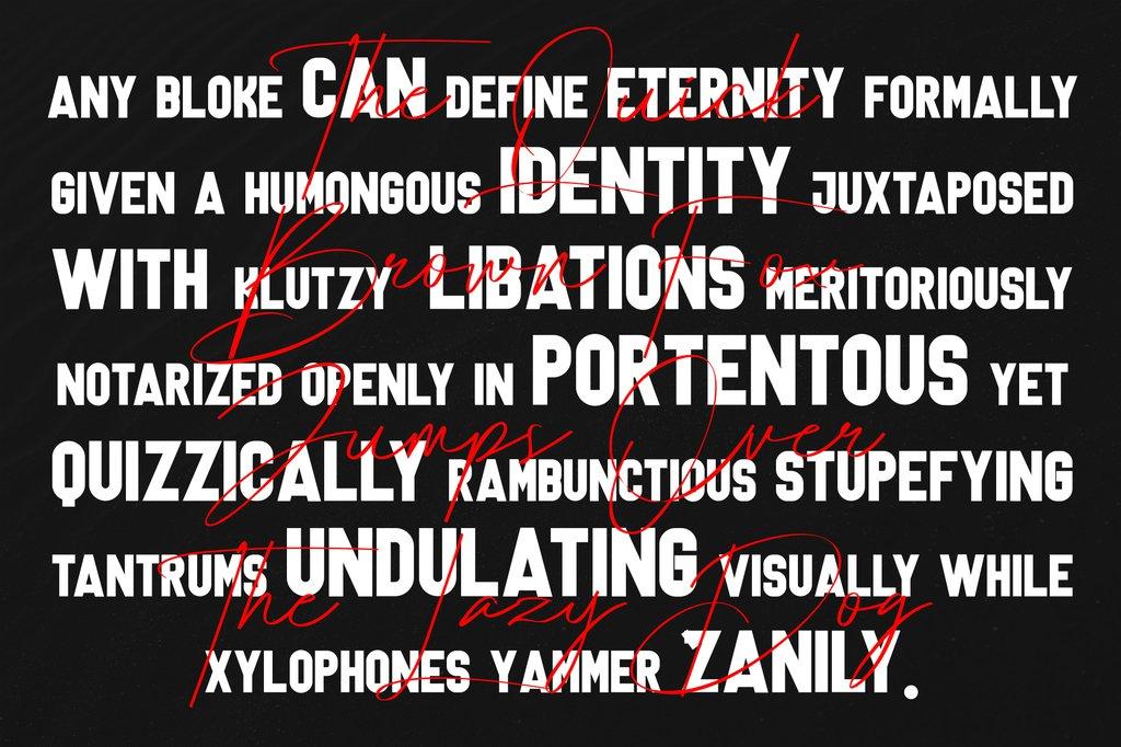 Lanterosy Font Family