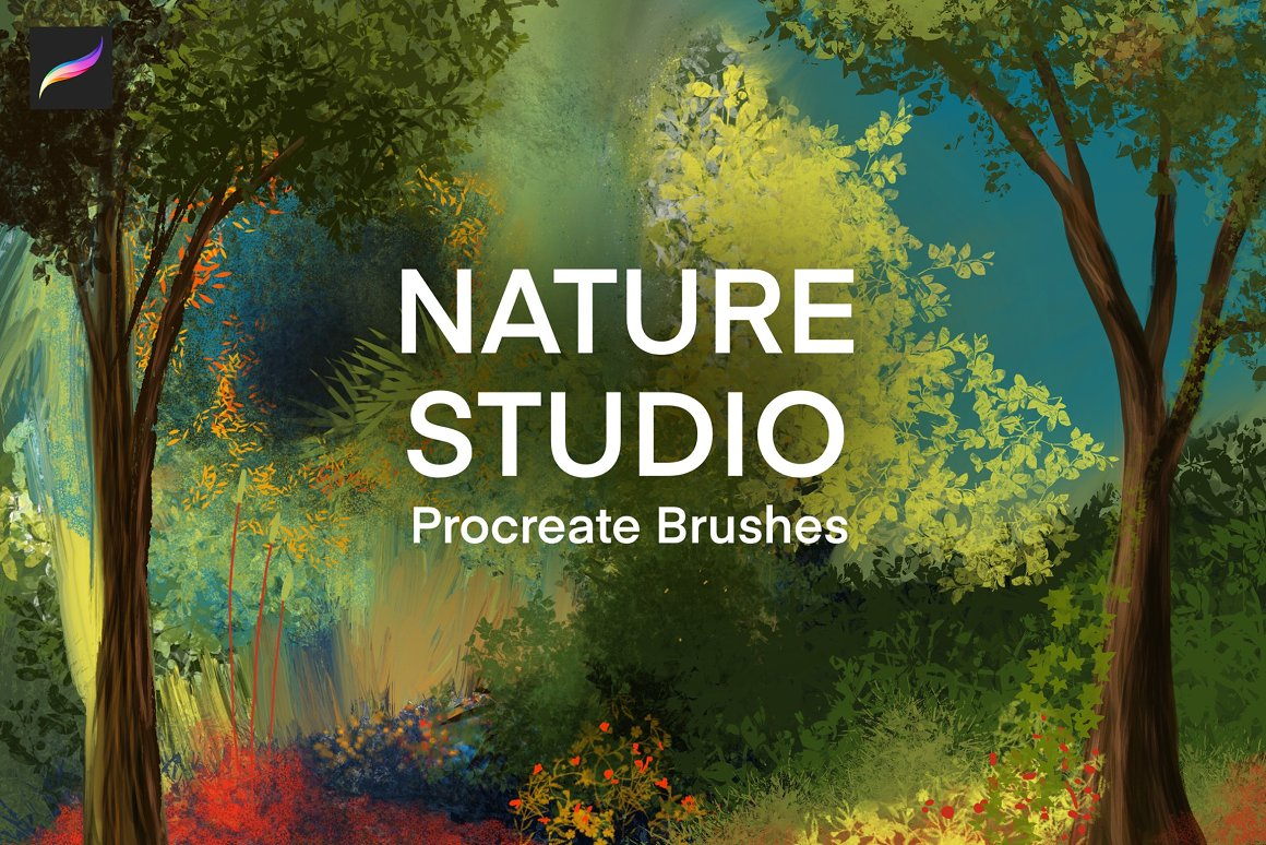 自然植物Procreate画笔